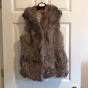 Genuine Rabbit fur vest